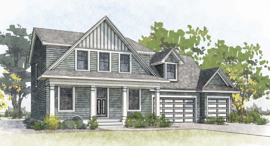 Arvada 2-story Cottage MLS marketing elevation