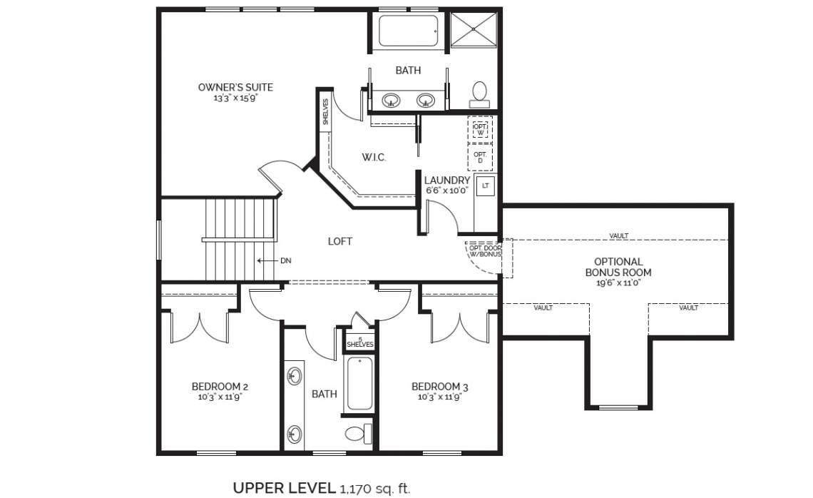 Arvada 2-story MLS marketing upper level